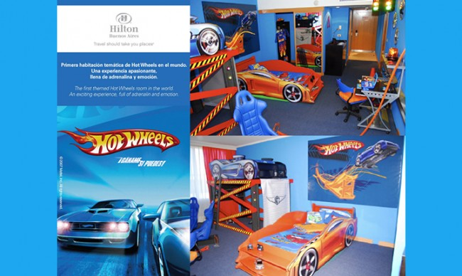 Activación Hot Wheels Mattel / Hilton